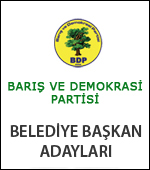 BDP'nin Kesinleşen Bitlis Belediye Başkan Adayları
