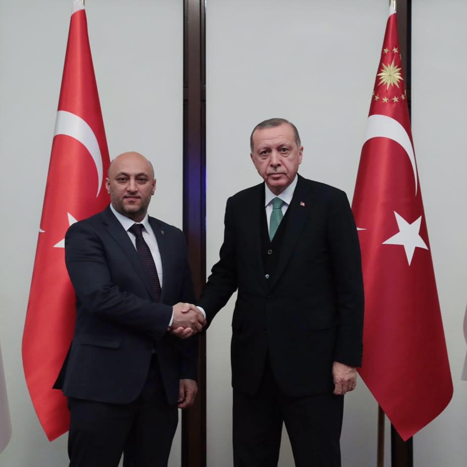 Bitlis Ak Parti il Başkanlığı'na Engin Günceoğlu atandı