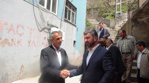 Bitlis'in hür adayı Karakaya, STK ziyaretlerini sürdürüyor