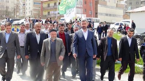 Tatvan halkından Bitlis'in hür adayına yoğun ilgi