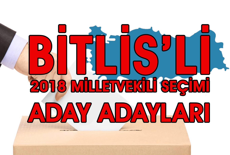 Bitlisli Hemşehrilerimizden Aday Adaylığı başvuruları başladı